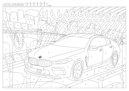 Bmw Templates Coloring Books Board Games 6
