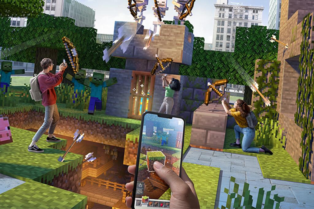 Minecraft Earth, el videojuego de realidad aumentada de Microsoft, cerrará en junio