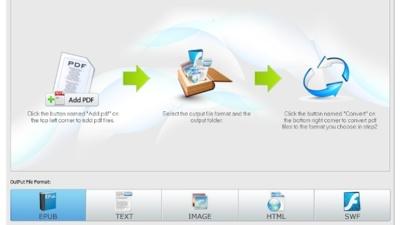 Free PDF Converter convierte fácil y rápido PDF a EPUB y otros formatos