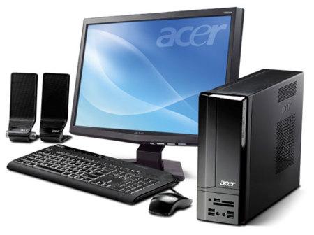 Acer X1700 y H2333H, ordenador y monitor