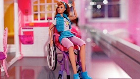 Becky, la amiga de Barbie en silla de ruedas