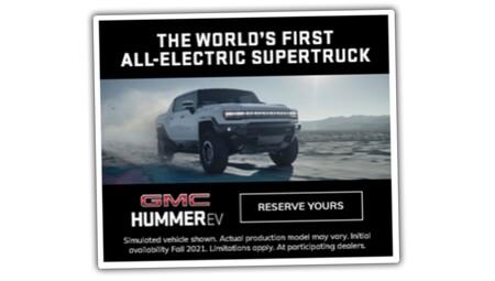 ¡Filtrado! El Hummer EV que GMC presentará hoy se escapa a horas de su presentación