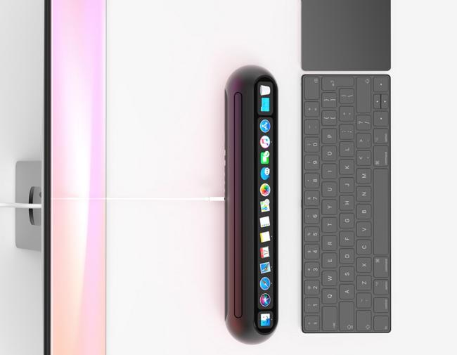 """¿Cómo podría ser el próximo Mac mini? El diseñador Louis Berger lo imagina en forma de """"barra"""""""