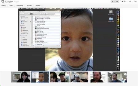 Google+ mejora sus hangouts: pantalla compartida y vídeo más grande