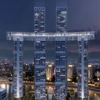 """China tiene un nuevo hito arquitectónico: un asombroso """"rascacielos horizontal"""" que costó 4.800 millones de dólares"""