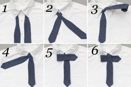 Como hacer nudo pajarita - 2