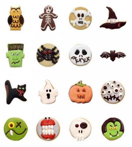 Halloween: galletas artesanas de Carlota's