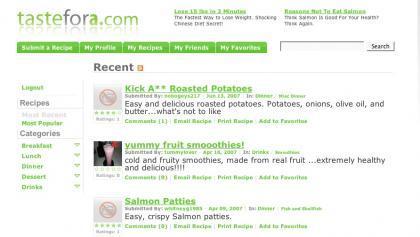 Tastefora, votando las recetas más interesantes