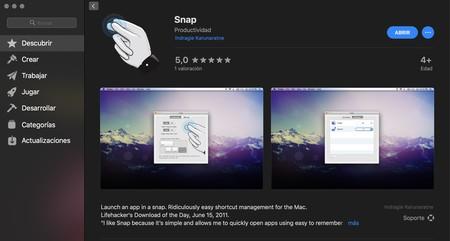 Snap para macOS