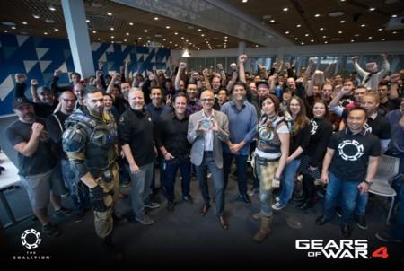 Desengrasa bien la cadena de tu Lancer: Gears of War 4 ya está terminado