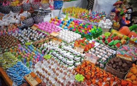 Feria Del Alfenique En Toluca
