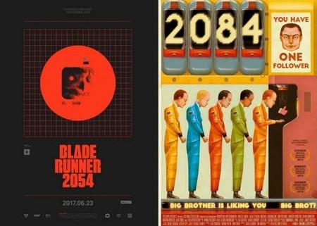Posters de las imaginarias secuelas de Blade Runner y 1984