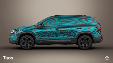 Volkswagen Taos Mexico Teaser 3