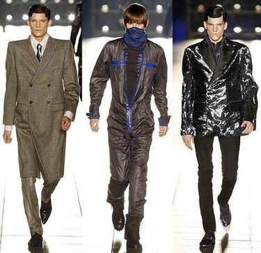 Alexander McQueen menswear Otoño/Invierno 2007-8