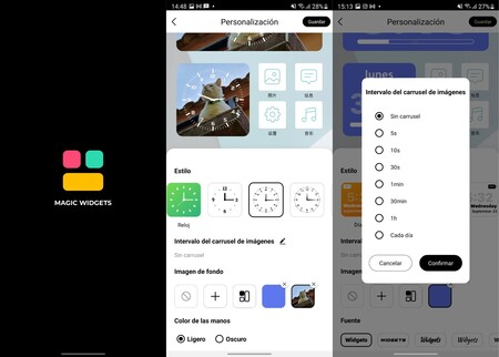 Magicwidgets Personalizar Android