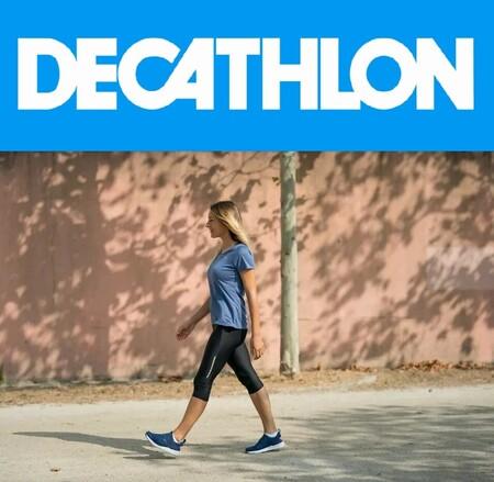 Ofertas Decathlon con descuentos de hasta el 50% en camisetas, zapatillas o chándales en liquidación