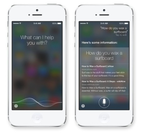 siri ios 7 apple iphone