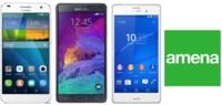 Precios Samsung Galaxy Note 4, Sony Xperia Z3 y Huawei Ascend G7 con Amena