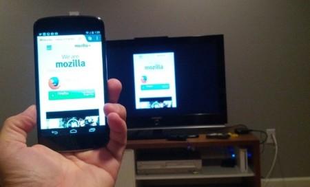 """Mozilla empieza a hacer pruebas con un """"AirPlay"""" propio para Firefox"""