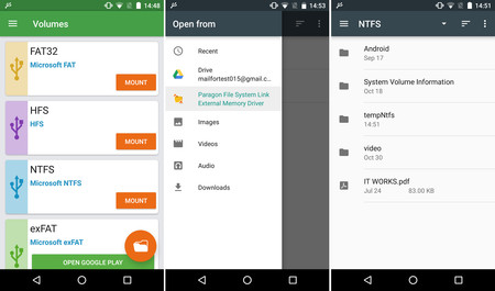 NTFS Driver Android