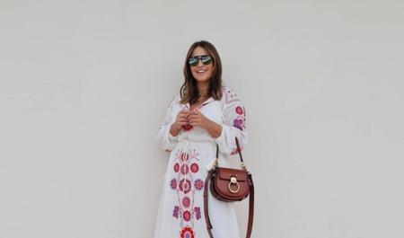 Paula Echevarría tiene el vestido boho más bonito del verano