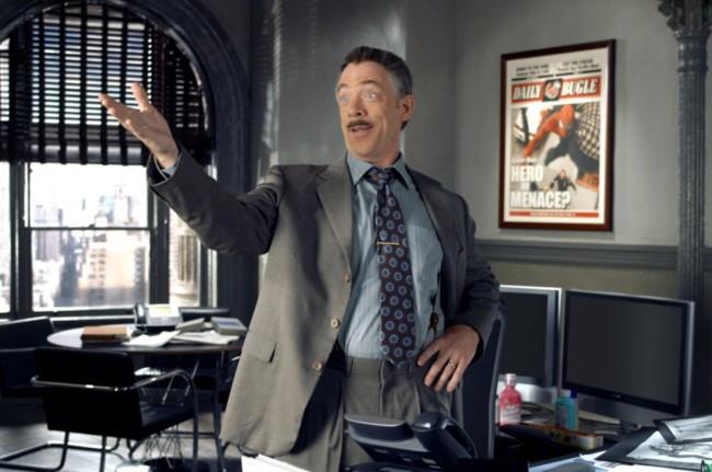 J.K. Simmons en Spider-Man