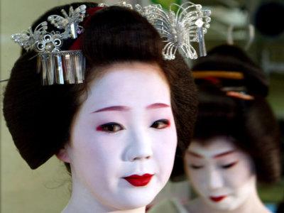 Las boquitas de piñón de las geishas, ¿una tendencia que habrá llegado para quedarse?