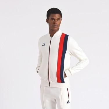 La exquisita chaqueta Revival de Le Coq Sportif