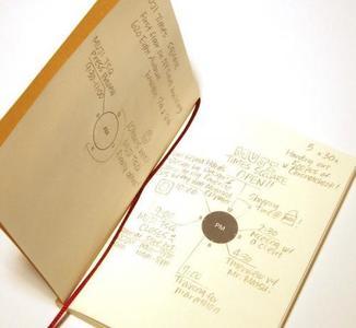 La agenda Muji Chronotebook