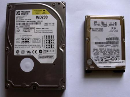 Los discos de 2.5 pulgadas serán el nuevo estándar en 2009