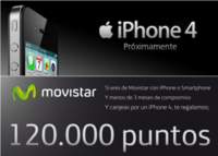 Primeras noticias del renove del iPhone 4 con Movistar