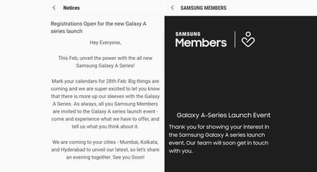 Los nuevos Samsung Galaxy A ya tienen fecha de presentación
