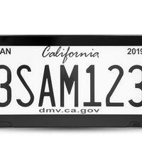 ¡Las placas digitales ya están aquí! California será el primer lugar donde se utilicen