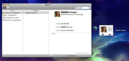 Gestiona mejor tus contactos aprovechando al máximo las vCards entre Mac OS X y iOS