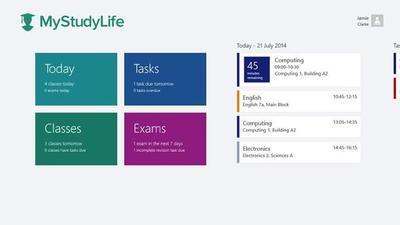 My Study Life, mantente al día con tus clases, tareas y exámenes. La aplicación de la semana
