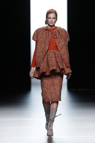 Juanjo Oliva en la Cibeles Madrid Fashion Week Otoño-Invierno 2011/2012