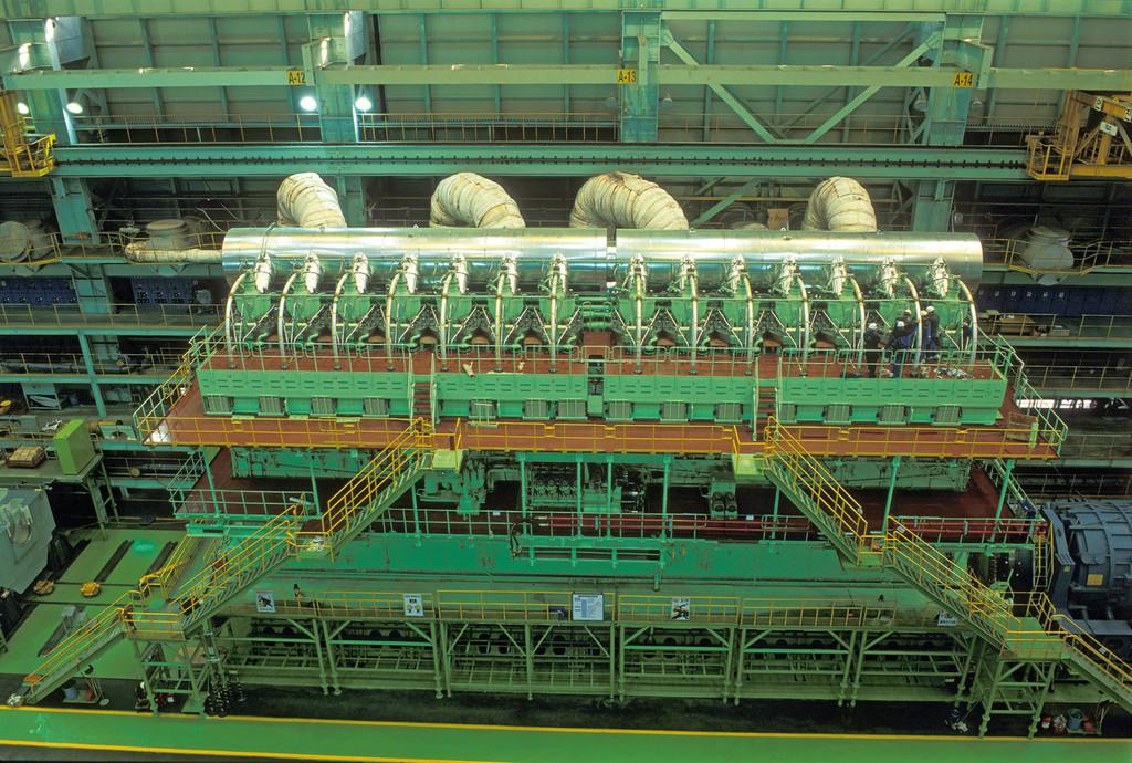 Pesa 2.100% toneladas y tiene 114.780 CV: es el Wärtsilä RT-flex96C, el motor diésel más grande y potente del mundo