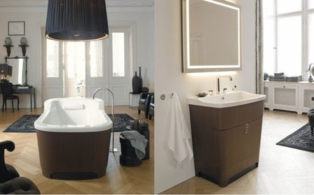 Duravit Esplanade toilet and bathtub