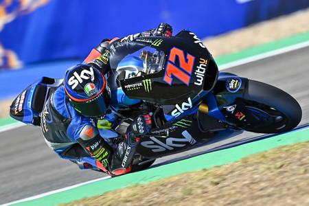 Marco Bezzecchi logra su primera pole position en Moto2 y Jorge Martín saldrá sexto en Jerez