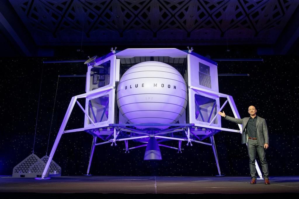'Blue Moon': los primeros detalles del ambicioso plan de Jeff Bezos con Blue Origin para acudir a la Luna