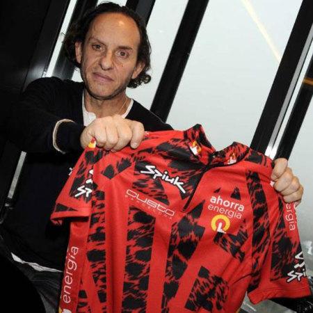 Custo diseña el maillot de la Vuelta Ciclista a España 2010