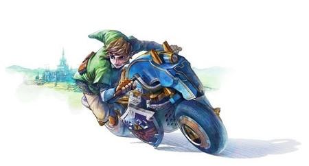 """Link recibe la """"Master Cycle"""" en el DLC de Mario Kart 8"""