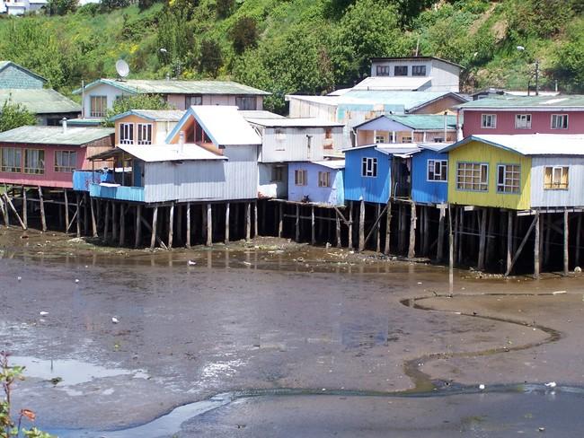 Castro Chiloe Island Chile