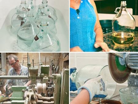 Lámpara dama fabricación