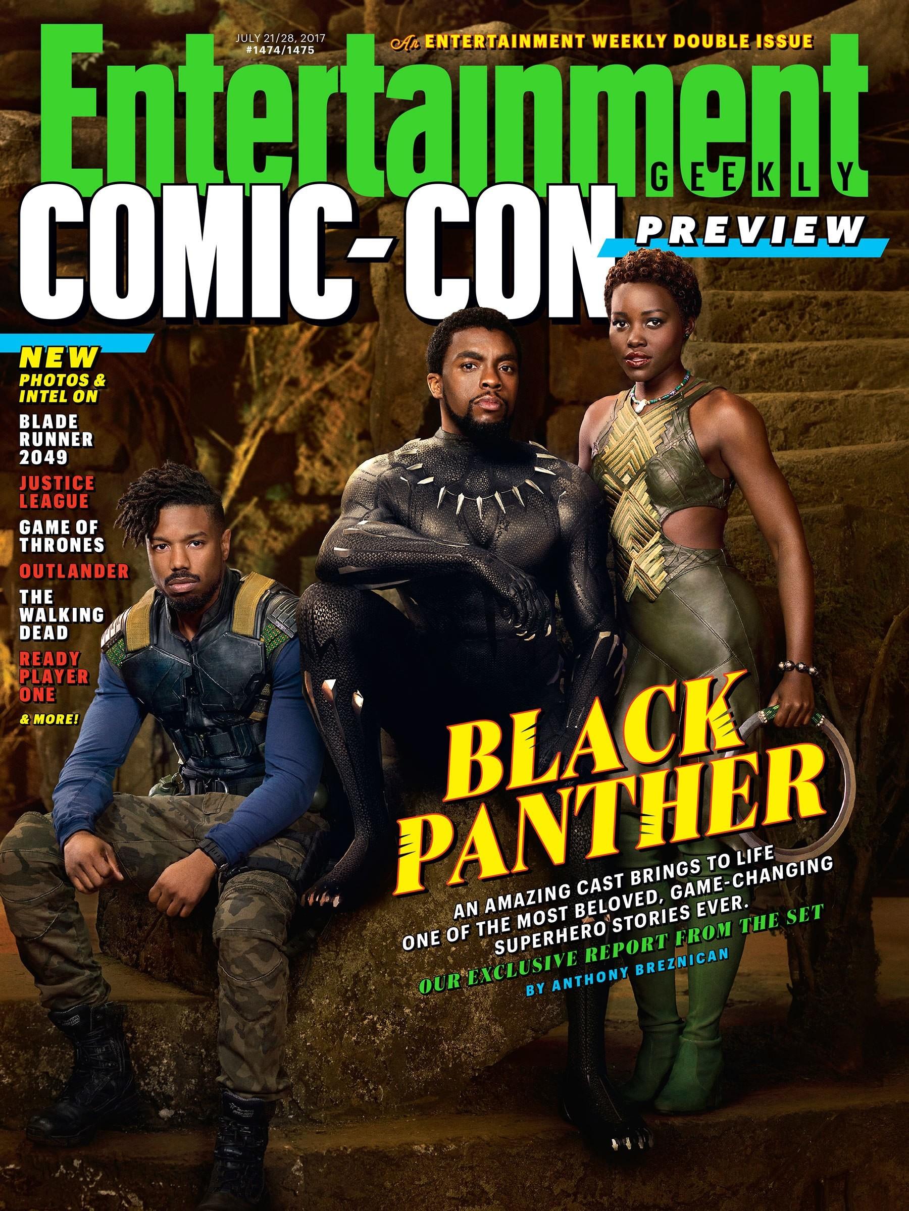 Foto de Nuevas imágenes oficiales de 'Black Panther' (1/20)