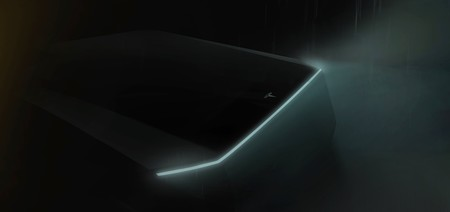 Tesla pick-up, primer teaser