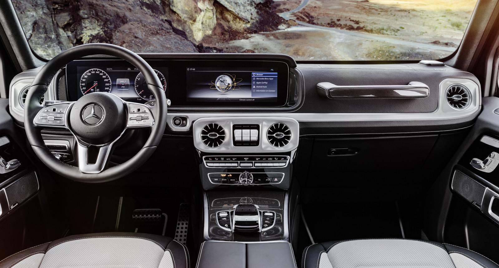 Foto de Mercedes-Benz Clase G 2019 (interior) (4/8)