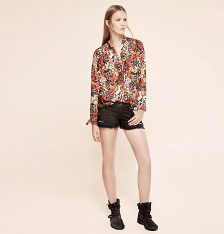 Camisa de flores de Mango Otoño-Invierno 2013/2014