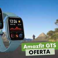 Ahora mismo en Amazon tienes el Amazfit GTS por sólo 89,90 euros