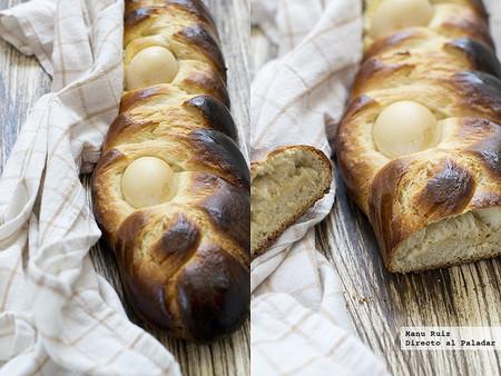 Pan dulce griego de Pascua. Receta